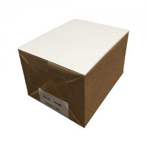No.20 往復ハガキ仕様両面白色無地ハガキ厚手 国産上質紙180kg (200x148) 【500枚】 しっかりとした厚みです!