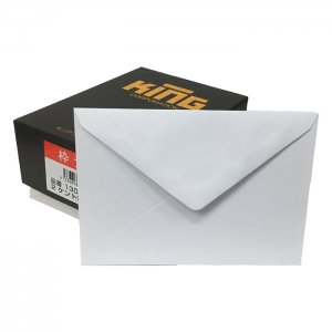 No.YF2S  洋型2号封筒(裏三角)・枠無し(ケント紙白無地) 100枚 挨拶状や招待状を入れるのに最適です♪