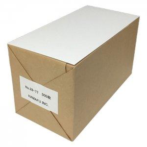 白色両面無地ハガキ厚手縦長【インクジェット対応】 (120x235)180kg 500枚 情報量の多いDMに最適!