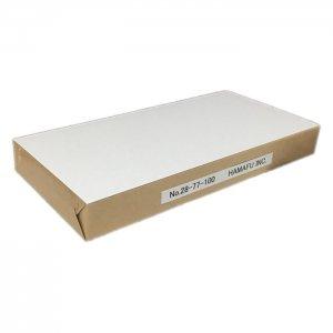 白色両面無地ハガキ厚手縦長【インクジェット対応】 (120x235)180kg 100枚 情報量の多いDMに最適!