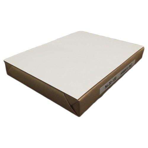往復ハガキ仕様両面白色無地ハガキ厚手 国産上質紙180kg (200x148) 100枚しっかりとした厚みです!