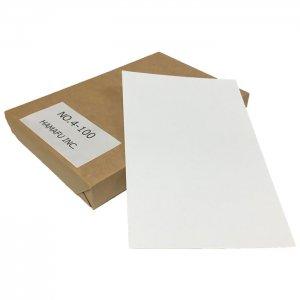 No.4-100  表光沢紙両面無地ハガキ (100mmx148mm) 100枚入り 市販の写真用紙もびっくり!
