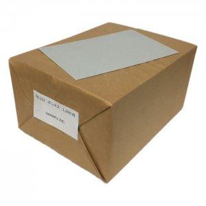 銀鼠色両面無地ハガキアメリカンサイズ(90x140mm) 1000枚 DMやサンクスカードに最適!