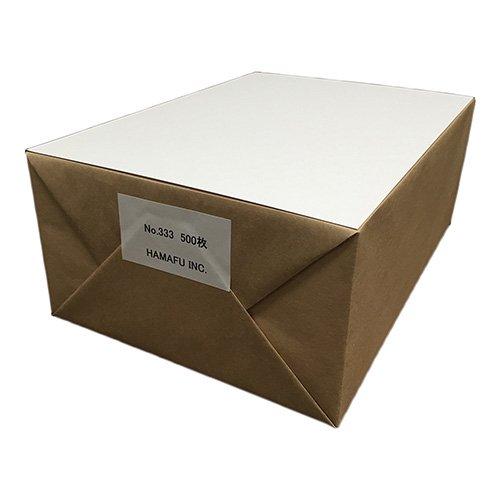 No.333  A4サイズ(210x297)白色両面無地ハガキ  500枚 とにかく目立つ!特に情報量の多いDMにオススメです。