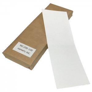 グリーティングカード仕様両面白色無地ハガキ(100x296) 180kg 500枚