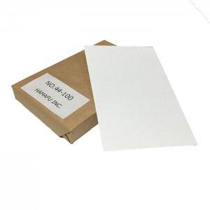 No.44-100  表光沢紙両面無地ハガキ・アメリカンサイズ (90mmx140mm) 100枚入り 市販の写真用紙もびっくり!