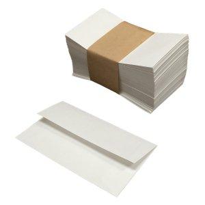 小さな封筒(白色)弊社の二つ折りサンクスカードが入ります♪【100枚】