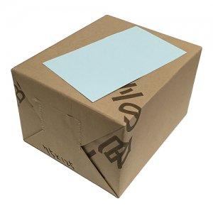 No.75x125C  情報カード(水色) 色上質最厚口 3inc x 5inc (75mmx125mm) 135kg 1,000枚