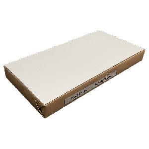 白色両面無地ハガキ厚手縦長(120x235)180kg ★100枚★ 情報量の多いDMに最適!