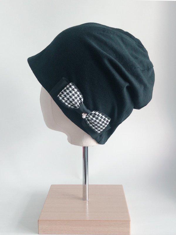 かわいい♡リボン付き医療用帽子 ribbon-001
