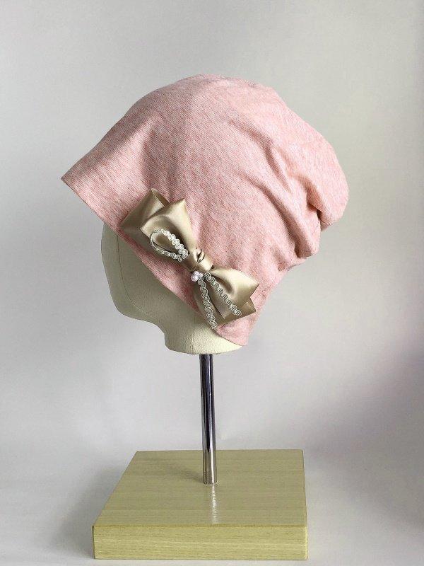かわいい♡リボン付き医療用帽子 ribbon-002