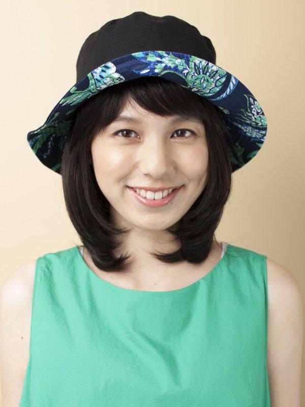 医療用 ミックス帽子用つけ毛ミディアム(キャップ縫付)