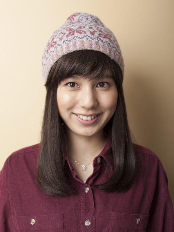 医療用 ミックス帽子用つけ毛ロング(キャップ縫付)