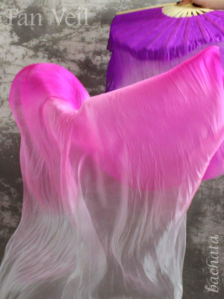 ファンベール・グラデーション・パープル〜ピンク〜ホワイト