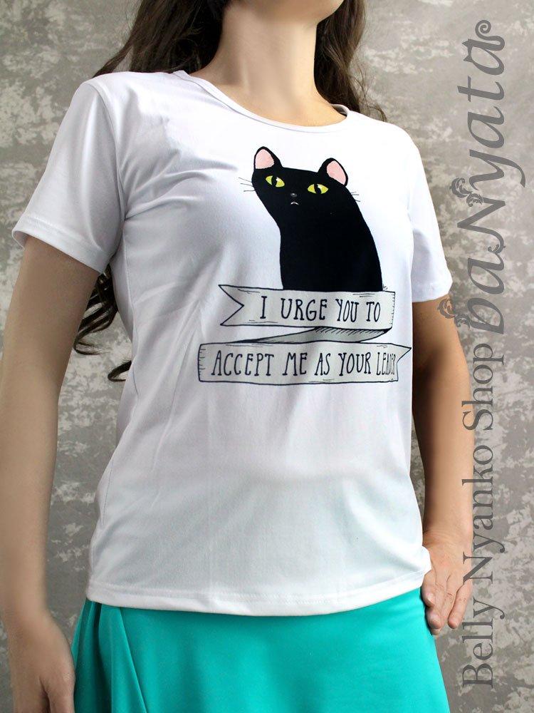 【baNyata】黒猫Tシャツ(送料無料!)
