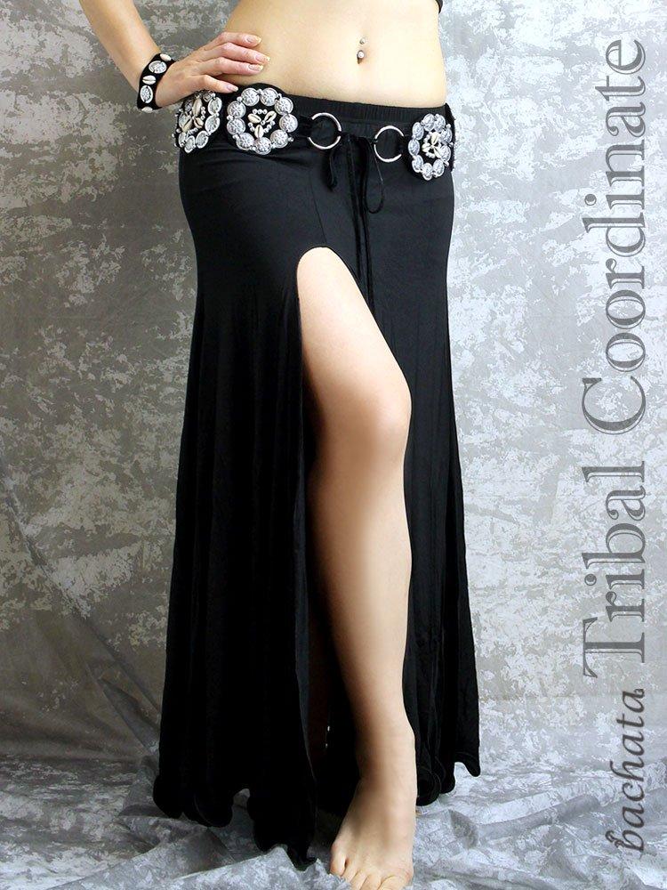 サイドスリットスカート・黒・Mサイズ
