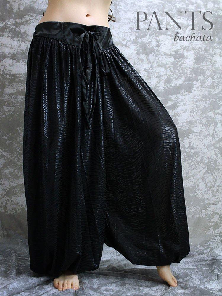 黒柄ハーレムパンツ
