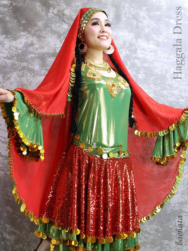 Hanan ハッガーラドレス Haggala Dress・FD0301・1点のみ