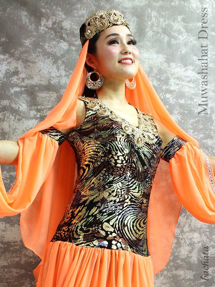 Hanan モアシャハットドレス Muwashahat Dress・FD0401・1点のみ