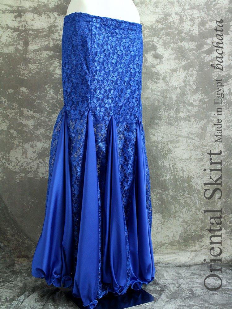 【訳あり】エジプト製マーメイドスカート・Sサイズ・ブルー