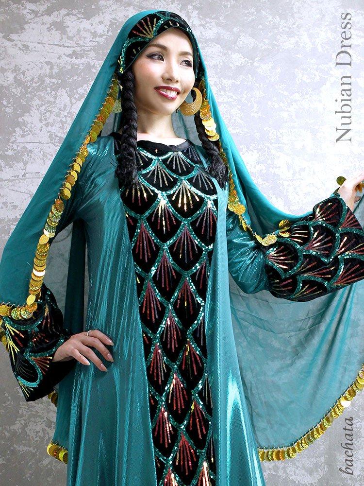 Hanan ヌビアンドレス Nubian Dress・FD0101・1点のみ