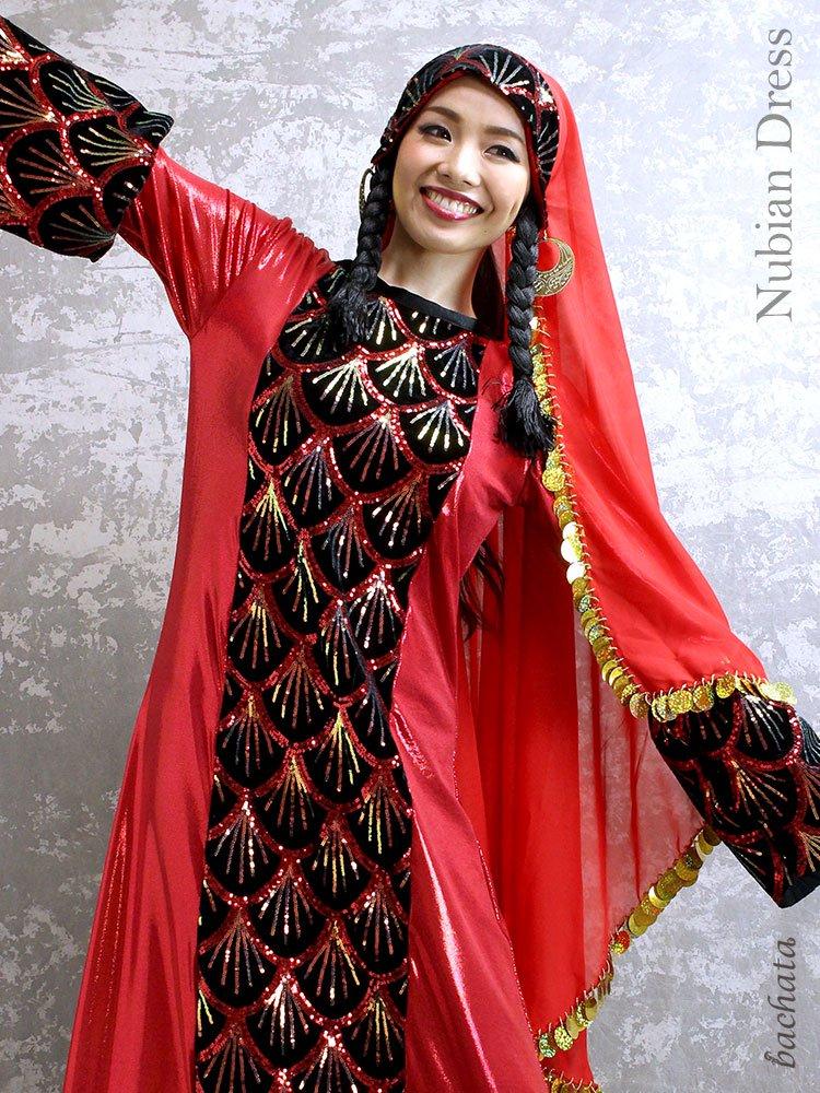 Hanan ヌビアンドレス Nubian Dress・FD0103・1点のみ