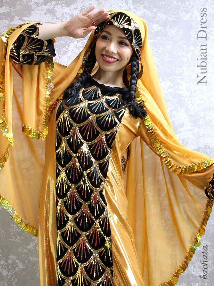 Hanan ヌビアンドレス Nubian Dress・FD0104・1点のみ