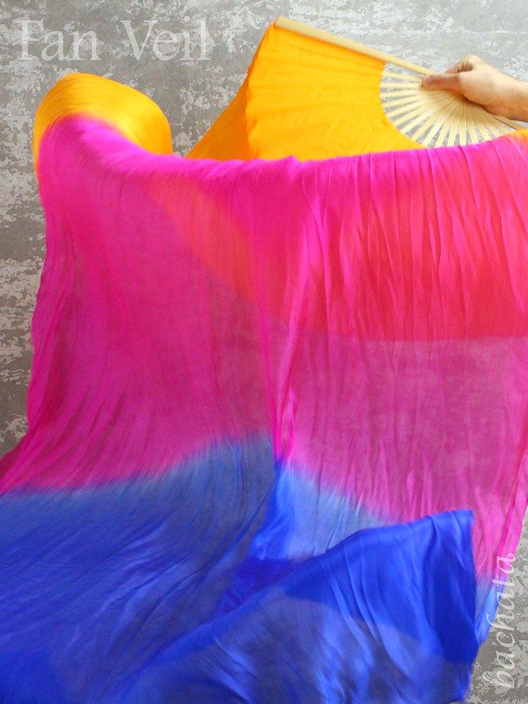 3色グラデーション・ファンベール