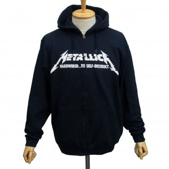 METALLICA - HARDWIRED ALBUM ZIP-UP HOODED SWEATSHIRT