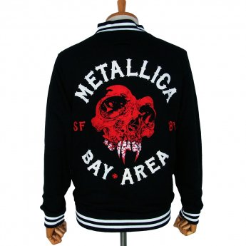 <img class='new_mark_img1' src='https://img.shop-pro.jp/img/new/icons57.gif' style='border:none;display:inline;margin:0px;padding:0px;width:auto;' />METALLICA - BAY AREA COLLEGE JACKET
