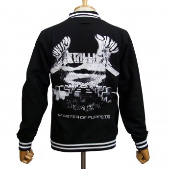 METALLICA - MOP DISTRESSED COLLEGE JACKET