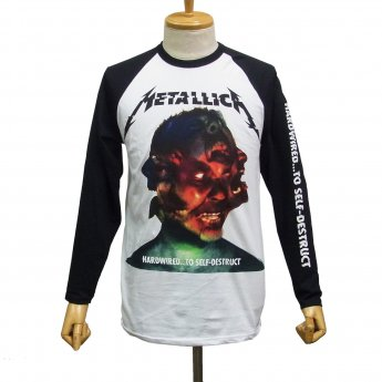 METALLICA - HARDWIRED ALBUM BASEBALL SHIRT