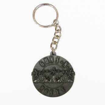 <img class='new_mark_img1' src='//img.shop-pro.jp/img/new/icons24.gif' style='border:none;display:inline;margin:0px;padding:0px;width:auto;' />GUNS 'N ROSES - ROSES & PISTOLS METAL KEYRING