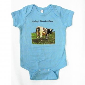 PINK FLOYD - ATOM HEART MOTHER BABY ONESIE