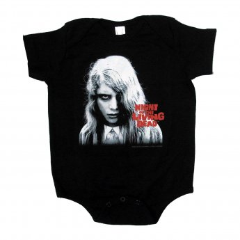<img class='new_mark_img1' src='//img.shop-pro.jp/img/new/icons3.gif' style='border:none;display:inline;margin:0px;padding:0px;width:auto;' />NIGHT OF THE LIVING DEAD - KYRA BABY ONESIE