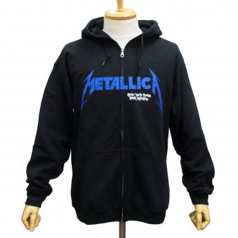 METALLICA - DORIS ZIP-UP HOODED SWEATSHIRT