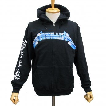 METALLICA - RIDE THE LIGHTNING ZIP-UP HOODED SWEATSHIRT