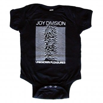 JOY DIVISION - UNKNOWN PLEASURE BABY ONESIE