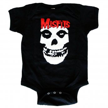 <img class='new_mark_img1' src='//img.shop-pro.jp/img/new/icons3.gif' style='border:none;display:inline;margin:0px;padding:0px;width:auto;' />MISFITS - LOGO SKULL BABY ONESIE