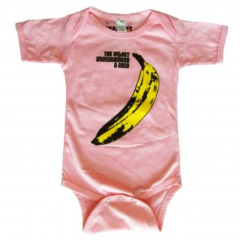 <img class='new_mark_img1' src='//img.shop-pro.jp/img/new/icons3.gif' style='border:none;display:inline;margin:0px;padding:0px;width:auto;' />VELVET UNDERGROUND - BANANA PINK BABY ONESIE