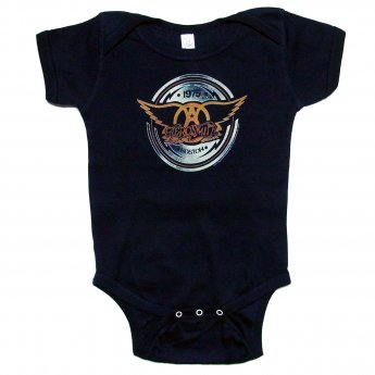 <img class='new_mark_img1' src='https://img.shop-pro.jp/img/new/icons5.gif' style='border:none;display:inline;margin:0px;padding:0px;width:auto;' />AEROSMITH - AEROCIRCLE BABY ONESIE