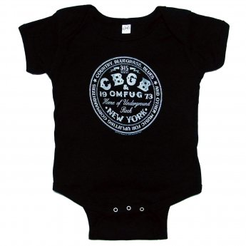 <img class='new_mark_img1' src='https://img.shop-pro.jp/img/new/icons5.gif' style='border:none;display:inline;margin:0px;padding:0px;width:auto;' />CBGB - CBGBCIRCLE BABY ONESIE