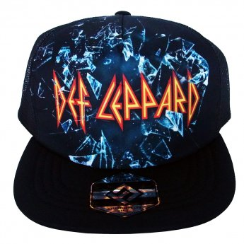 <img class='new_mark_img1' src='https://img.shop-pro.jp/img/new/icons5.gif' style='border:none;display:inline;margin:0px;padding:0px;width:auto;' />DEF LEPPARD - SUBLIMATED MESH BASEBALL CAP