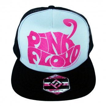 <img class='new_mark_img1' src='https://img.shop-pro.jp/img/new/icons5.gif' style='border:none;display:inline;margin:0px;padding:0px;width:auto;' />PINK FLOYD - PINK GLITTER LOGO MESH BASEBALL CAP