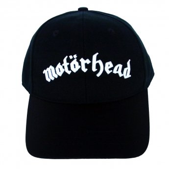 <img class='new_mark_img1' src='https://img.shop-pro.jp/img/new/icons5.gif' style='border:none;display:inline;margin:0px;padding:0px;width:auto;' />MOTORHEAD - LOGO LEATHER VISOR BASEBALL CAP