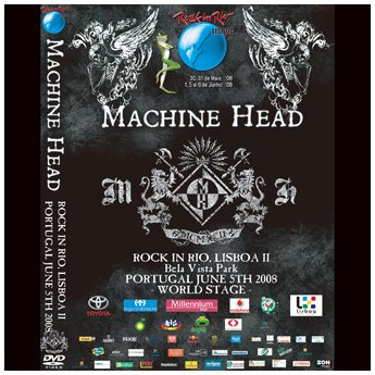 <img class='new_mark_img1' src='https://img.shop-pro.jp/img/new/icons24.gif' style='border:none;display:inline;margin:0px;padding:0px;width:auto;' />MACHINE HEAD - ROCK IN RIO, LISBOA 2 PORTUGAL JUNE 5TH 2008 DVD