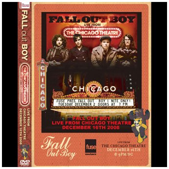 <img class='new_mark_img1' src='//img.shop-pro.jp/img/new/icons24.gif' style='border:none;display:inline;margin:0px;padding:0px;width:auto;' />FALL OUT BOY - LIVE FROM CHICAGO THEATRE 12.16.2008 DVD