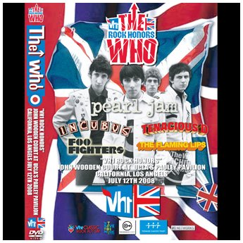 <img class='new_mark_img1' src='//img.shop-pro.jp/img/new/icons24.gif' style='border:none;display:inline;margin:0px;padding:0px;width:auto;' />THE WHO/V.A. - ROCK HONORS 2008 DVD