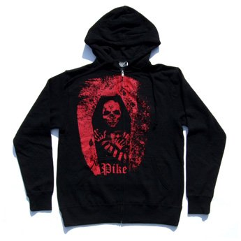 <img class='new_mark_img1' src='//img.shop-pro.jp/img/new/icons24.gif' style='border:none;display:inline;margin:0px;padding:0px;width:auto;' />PIKE APPAREL - GRAVESTONE ZIP-UP HOODED SWEATSHIRT