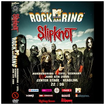 <img class='new_mark_img1' src='//img.shop-pro.jp/img/new/icons24.gif' style='border:none;display:inline;margin:0px;padding:0px;width:auto;' />SLIPKNOT - ROCK AM RING FESTIVAL JUNE 6TH 2009 DVD